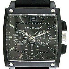 watches on at kmart myalerts men s black strap watch black squar t